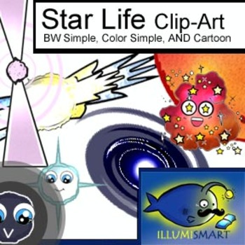 Star Life: Outer Space Clip Art-27 Pieces