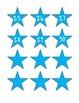 Star Number Labels 1-30