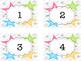 Star Number Labels