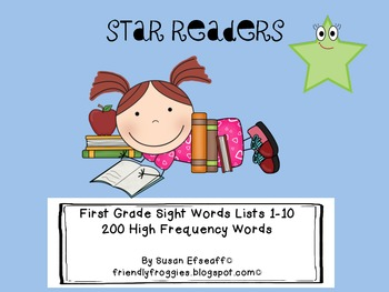 Sight Word Fluency - Star Readers!