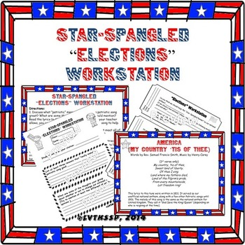 "Star-Spangled Banner ""Elections"" Bundle"