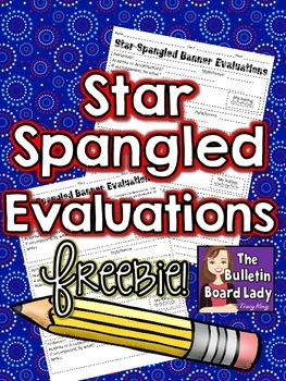 Star Spangled Banner Evaluations