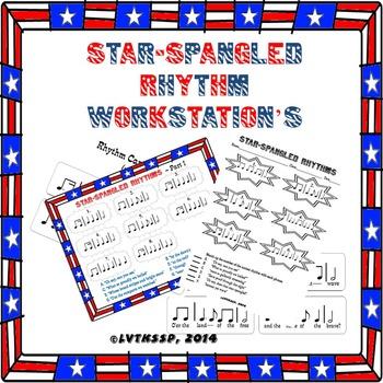 Star-Spangled Banner Rhythm Workstations