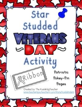 Star Studded Veteran's Day Activity