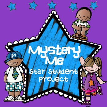 Star Student / All About Me Project - Mystery Me