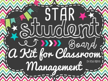 Star Student Board No-Prep KIT for Classroom Management! #