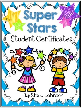 Star Student Certificates {Free}