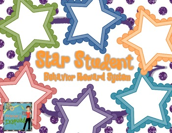 Star Student Crazy Straw Toppers