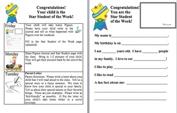 Star Student of the Week (edit)