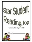 Star Student reading log
