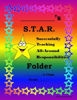 Star-Themed Folder