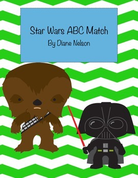 Star Wars ABC Match and ABC Ordering