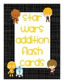 Star Wars Addition Flash Cards