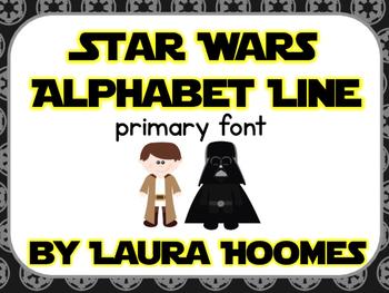 Star Wars Alphabet Line