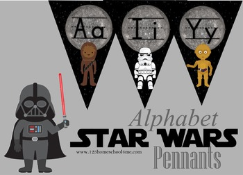 Star Wars Alphabet Pennant