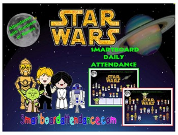 Star Wars Attendance, With or Without Lunch Count
