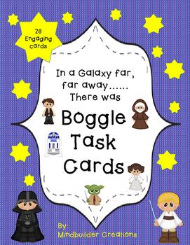 Star Wars Boggle ~ Easy No Prep ~ Print and Play