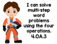 "Star Wars CCSS 4th Grade ""I Can Statements"" Reading & Math"