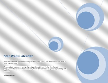 Star Wars Calendar 2