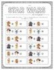 Star Wars Inspired Christmas Roll and Graph Activity and D