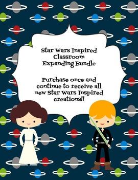 Star Wars Classroom Expanding Bundle