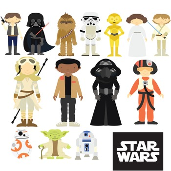 Star Wars - Clipart & Vector Set