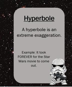 Star Wars Figurative Language Posters