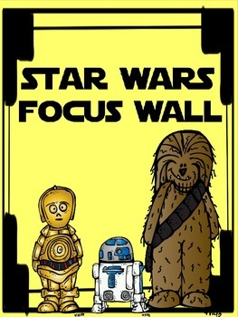 Star Wars Focus Wall Titles