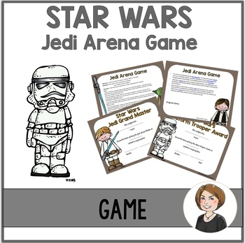 Star Wars Game 2 - Jedi Arena Game