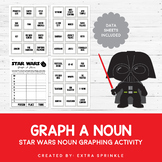 Star Wars Inspired Graph A Noun Activity and Data Sheets