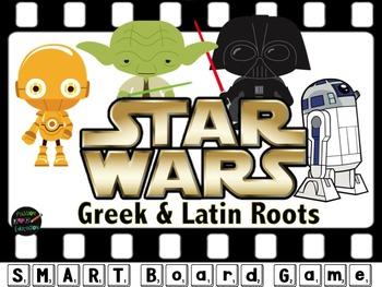 Star Wars Greek & Latin Roots Smartboard Games