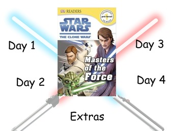 Star Wars - Masters of the Force: Guided Reading Program -