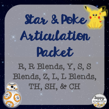 Star & PokeGo Articulation Packet