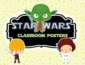Star Wars Primary Classroom Posters