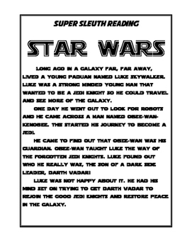 Star Wars Short Story 5W's