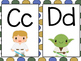 Star Wars Themed Word Wall Letters (Blue Polka Dot)
