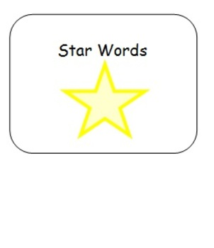 Star Words Adapted Spelling Book 2 for Students with Speci