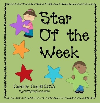 "Build A Positive Classroom Climate with a ""Star of the Week"""