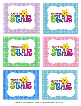 Star of the Week, or Day Badges