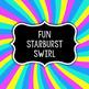 Starburst Candy Swirls - Digital Paper