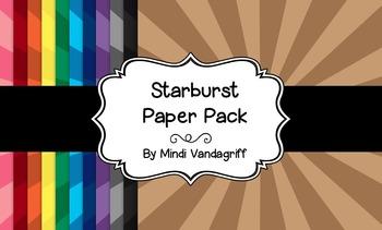 Starburst Paper Pack