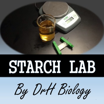 Starch Diffusion Lab {Low Prep and Easy Clean-UP}