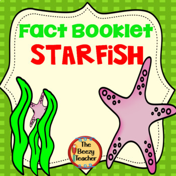Starfish Fact Booklet