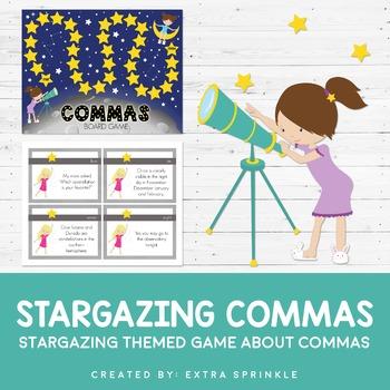 Stargazing Commas Board Game