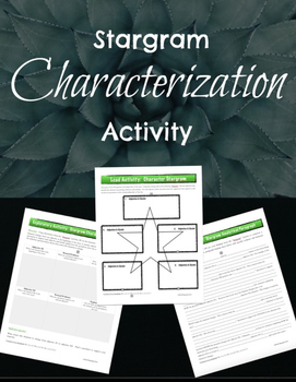 Characterization & Textual Evidence: Literary Elements & A