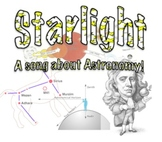 Starlight lyrics: a song about Astronomy