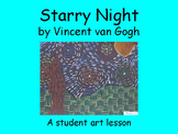 Starry Night Art Lesson (PowerPoint)