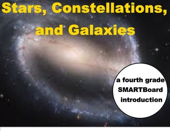 Stars, Constellations, and Galaxies - A Fourth Grade SMART
