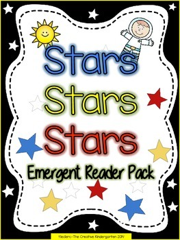 Stars {Emergent Reader Pack with Guided Reading/Pocket Cha