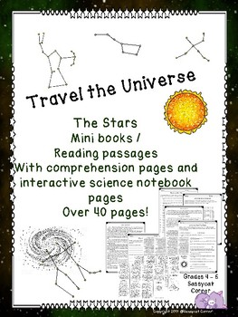 Stars, Galaxies, Constellations, and more Minibook & Compr
